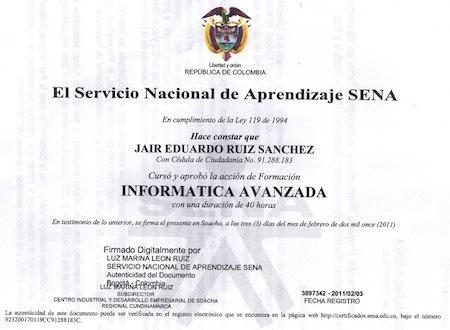 Certificados y Constancias Sena SOFIA Plus 1 Certificados y Constancias Sena SOFIA Plus