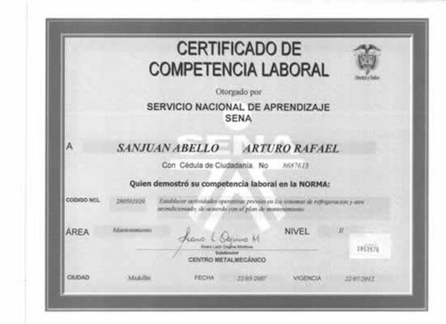 Certificados Sofia Plus