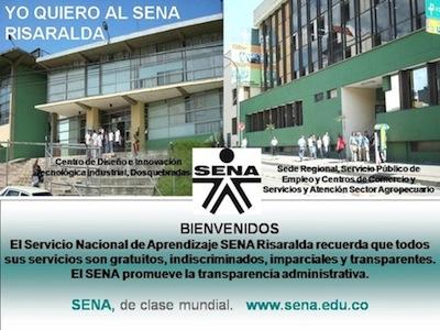 Inscripciones en SENA Risaralda