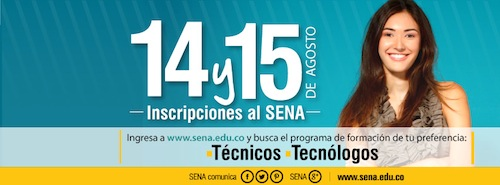 Nuevos cupos para la IV Convocatoria SENA  Educación Presencial en el SENA